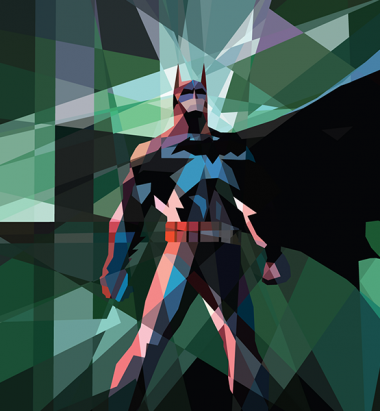 Толстовка 3D Batman