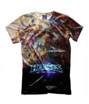Детская футболка 3D Heroes of the storm