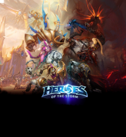 Толстовка 3D Heroes of the storm