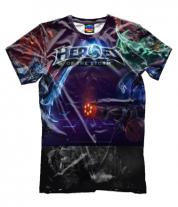 Мужская футболка 3D Heroes of the storm