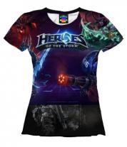 Женская футболка 3D Heroes of the storm