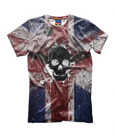 Детская футболка 3D Череп