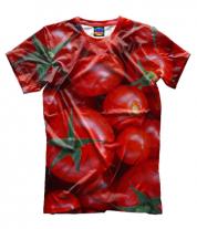 Мужская футболка 3D Помидор