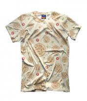 Детская футболка 3D Пицца