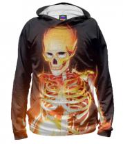 Толстовка 3D Скелет