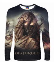 Мужская футболка с длинным рукавом 3D Disturbed