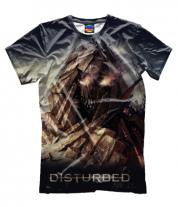 Мужская футболка 3D Disturbed