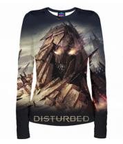 Женская футболка с длинным рукавом 3D Disturbed