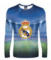 Мужская футболка с длинным рукавом 3D Real Madrid