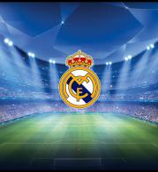 Толстовка без капюшона 3D Real Madrid