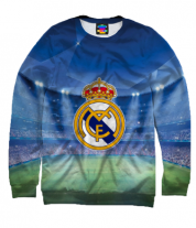 Толстовка без капюшона 3D Real Madrid