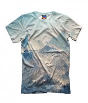 Детская футболка 3D Вершины гор