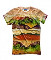 Детская футболка 3D Бургер