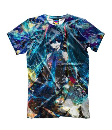 Детская футболка 3D Аниме