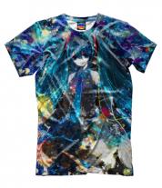 Мужская футболка 3D Аниме