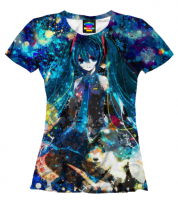 Женская футболка 3D Аниме