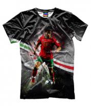 Мужская футболка 3D Роналду