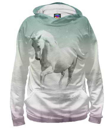 Толстовка 3D Лошадь