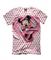 Детская футболка 3D Минни Маус
