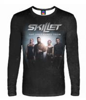 Мужская футболка с длинным рукавом 3D Skillet