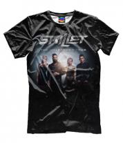 Мужская футболка 3D Skillet