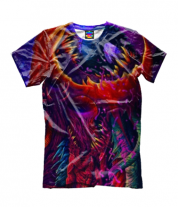 Детская футболка 3D CS GO HYPERBEAST
