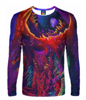 Мужская футболка с длинным рукавом 3D CS GO HYPERBEAST