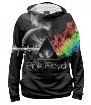 Толстовка худи 3D Pink Floyd