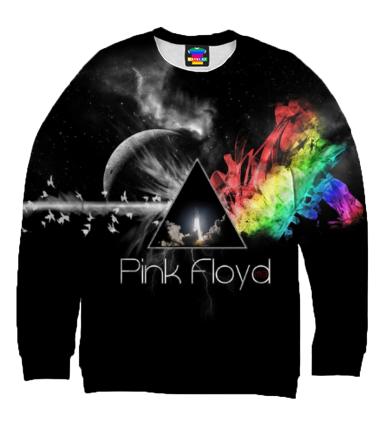 Толстовка без капюшона 3D Pink Floyd