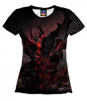 Женская футболка 3D Dota
