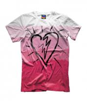 Детская футболка 3D Сердце