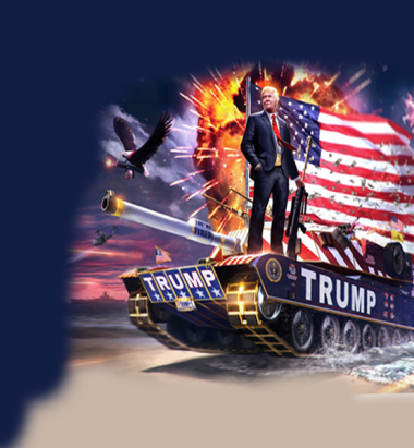 Мужская футболка 3D Trump