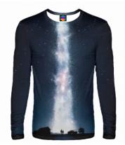Мужская футболка с длинным рукавом 3D Interstellar