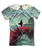 Мужская футболка 3D Sekiro