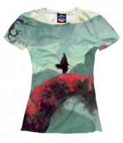 Женская футболка 3D Sekiro