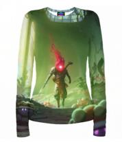 Женская футболка с длинным рукавом 3D Dead Cells