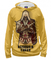 Толстовка худи 3D Assassin's Creed