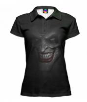 Футболка поло женская 3D Joker