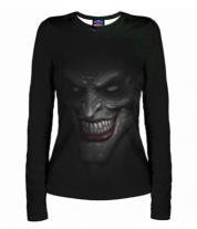 Женская футболка с длинным рукавом 3D Joker