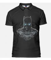 Футболка поло мужская 3D Batman