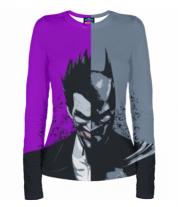 Женская футболка с длинным рукавом 3D Batman