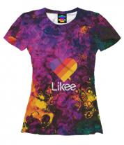 Женская футболка 3D Likee