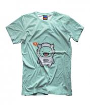 Детская футболка 3D Дьявол Космонавт