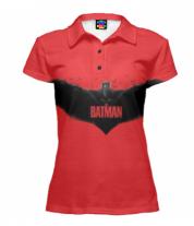 Футболка поло женская 3D BATMAN