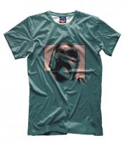 Мужская футболка 3D Brawl Stars minimal logo