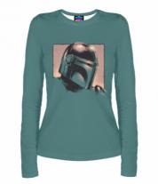 Женская футболка с длинным рукавом 3D The Mandalorian