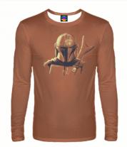 Мужская футболка с длинным рукавом 3D The Mandalorian