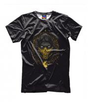 Детская футболка 3D Mortal Kombat Scorpion