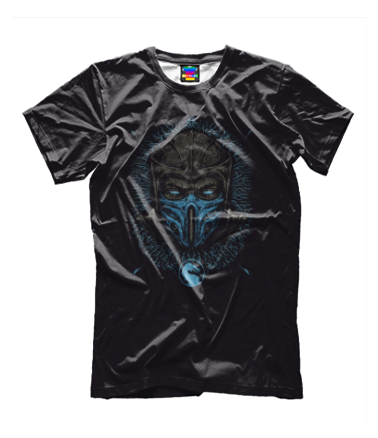 Детская футболка 3D Mortal Kombat Sub-Zero