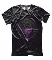 Мужская футболка 3D Mortal Kombat Rain